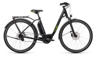 Cube Town Hybrid ONE black´n´green Easy Entry von bikeschmiede-Ahl, 63628 Bad Soden Salmünster