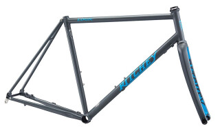 Ritchey ROAD LOGIC DISC Rahmenset 2020 Grey/Blue Logo von Just Bikes, 10627 Berlin